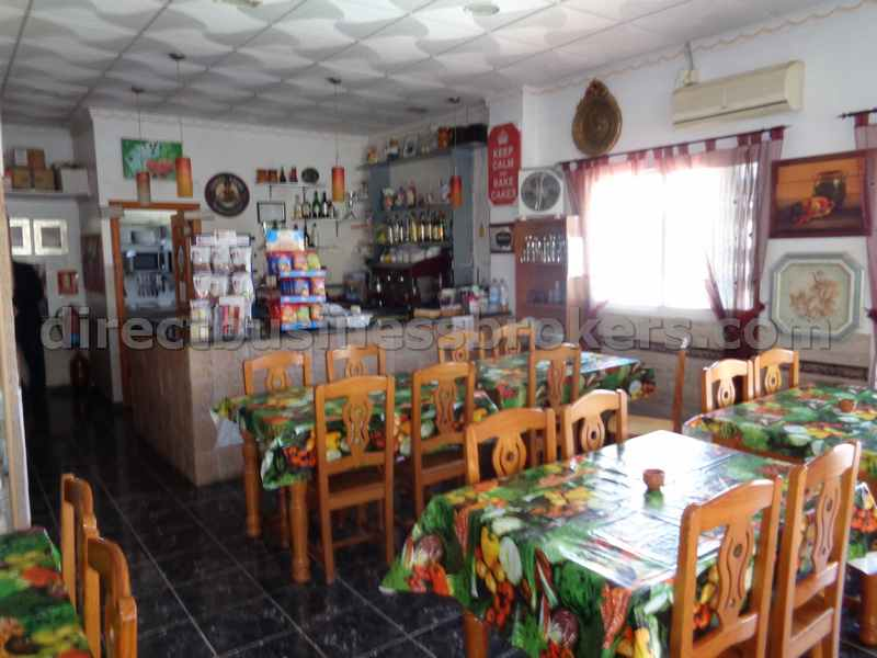 Family Run Bar-Restaurant In Popular Tourist Area