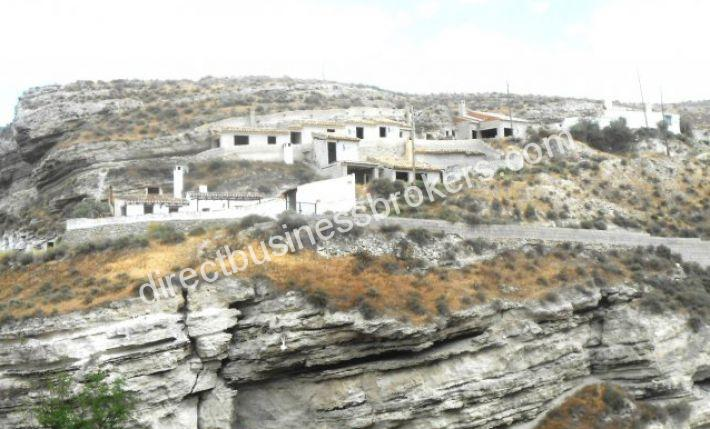 Larger Two Storey Cave House with Land and Garage.
