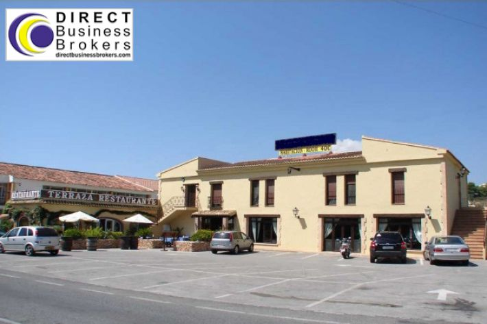 Hotel and Restaurant for sale in Moraira