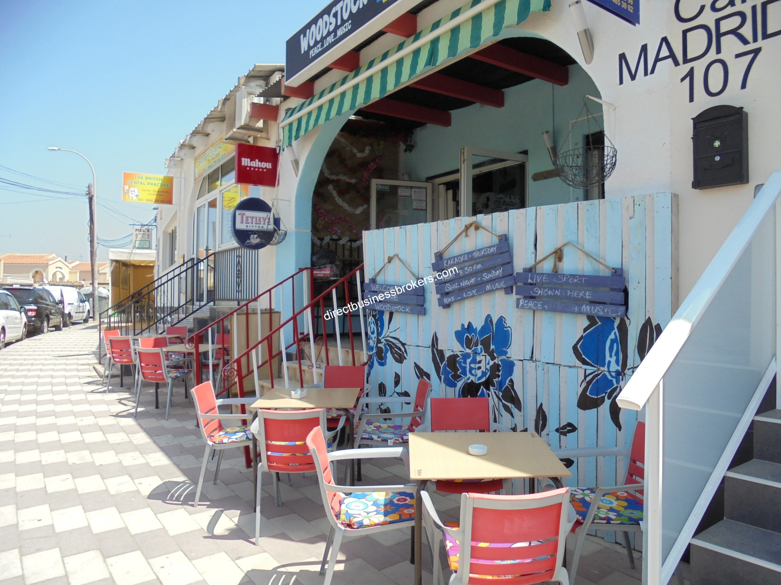 Very Popular Bar In Densly Populated Area of La Marina (1193)