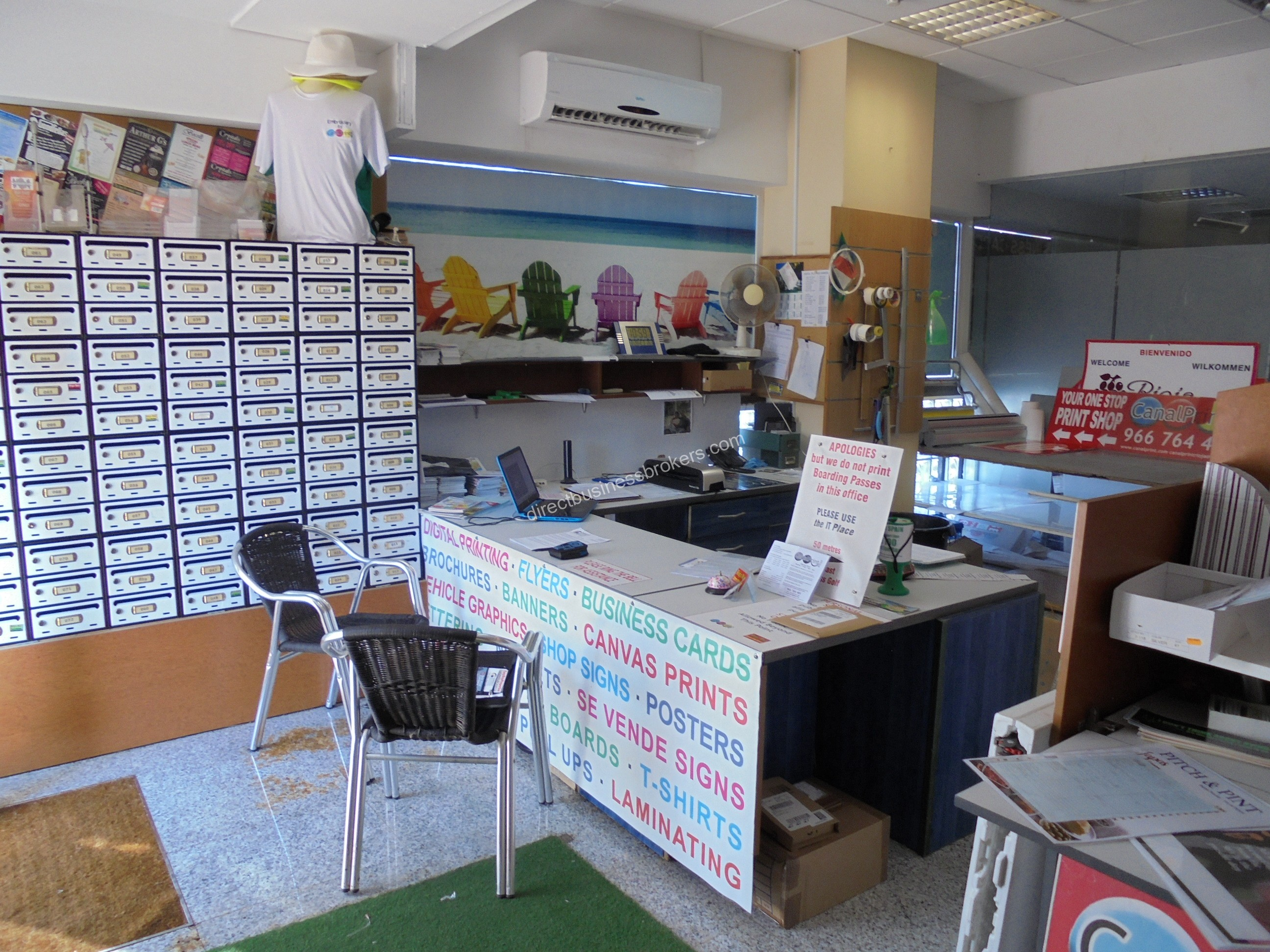 Very Well Established Print Shop on the Orihuela Costa (1209)