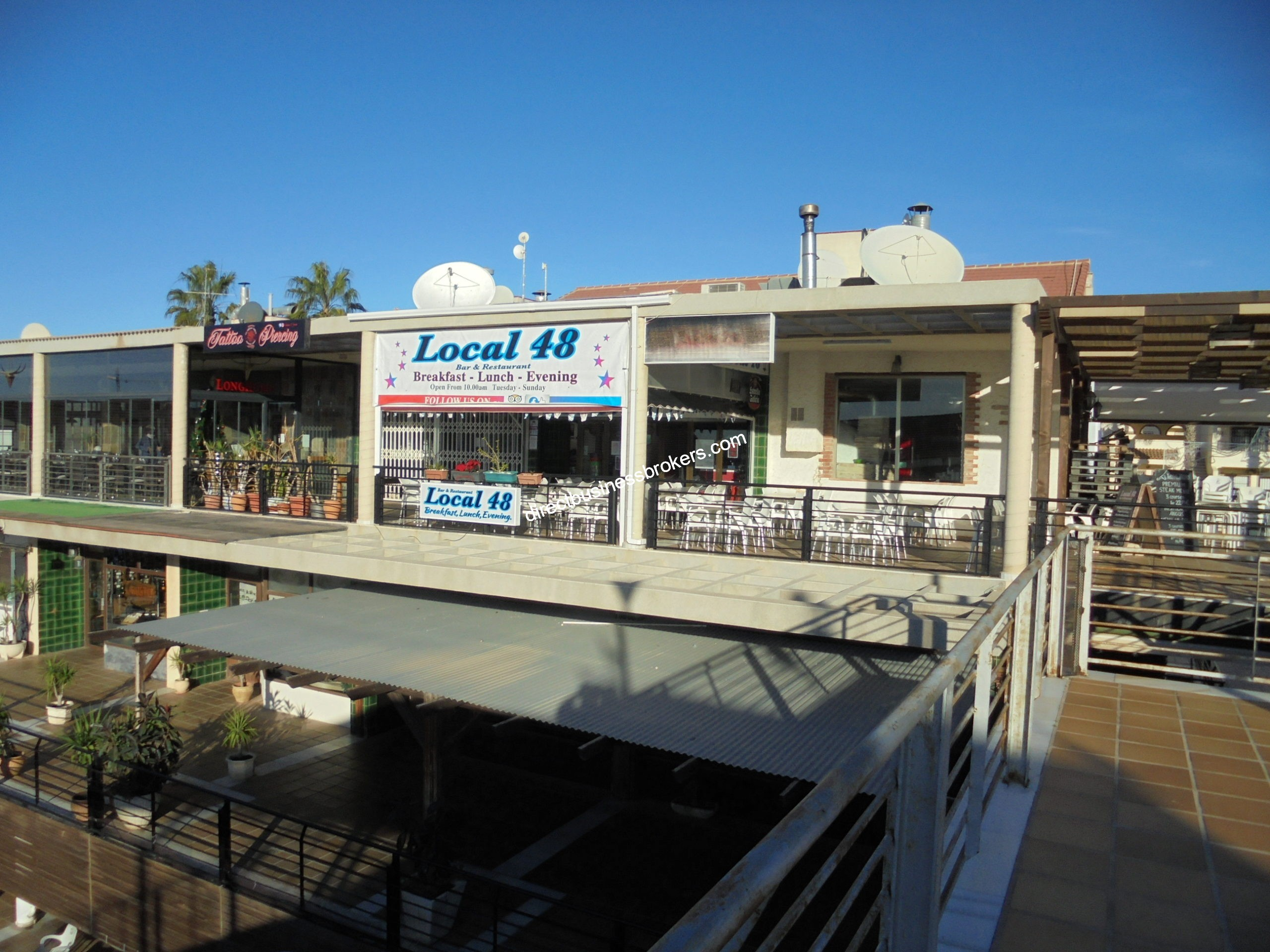 Busy Easy To Operate Restaurant / Bar in Orihuela Costa (1245)