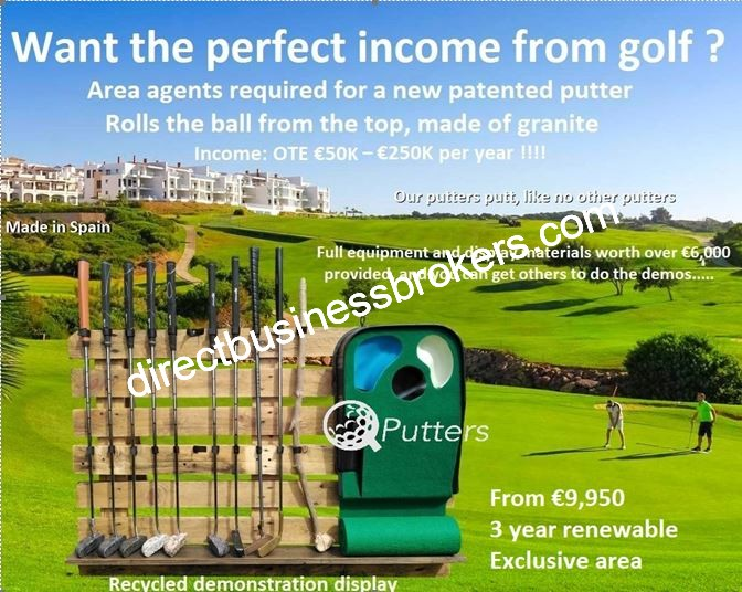 Golf Related Business Opportunity With Unlimited Earnings (1261)