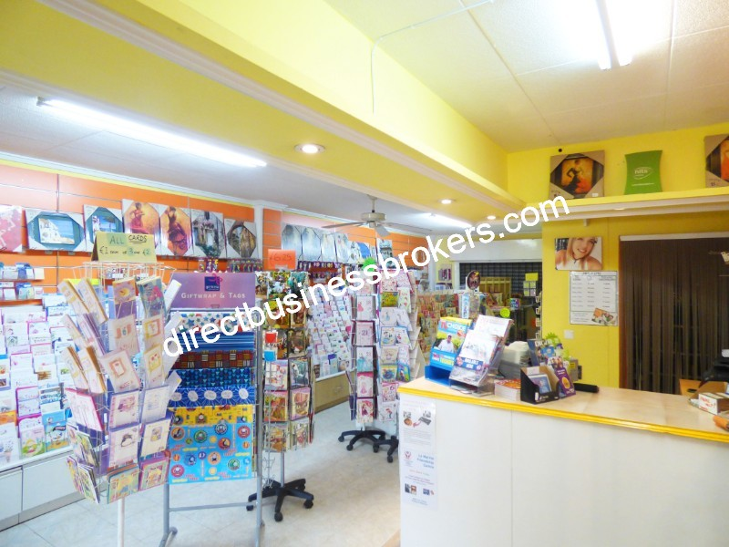 Busy Card & Accessories Shop in Prime Location (1243)